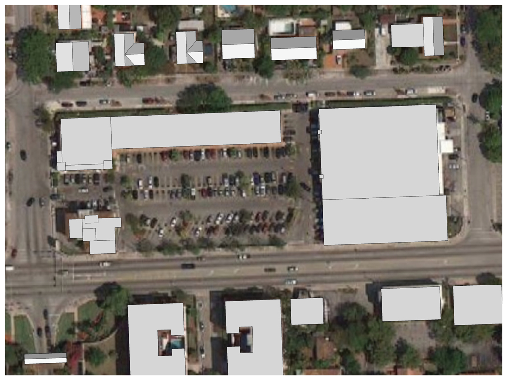 Existing Site at SW 8th Street and SW 49 Ave