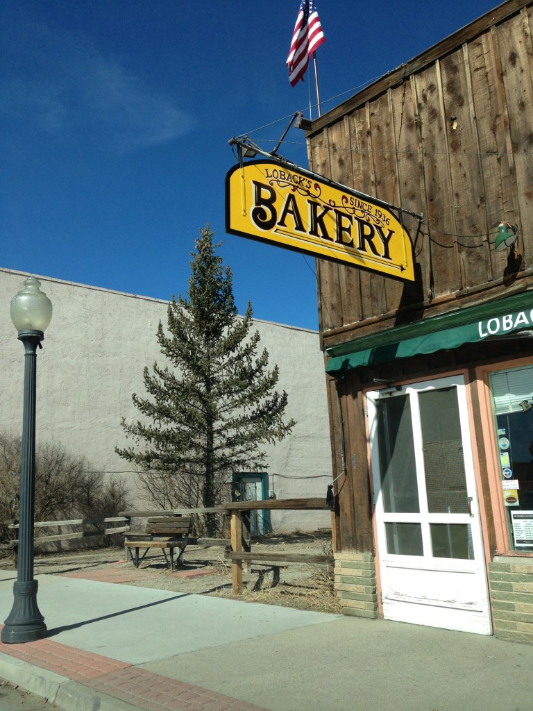 Loback's Bakery along Main Street is the oldest business in Buena Vista - Established in 1945.
