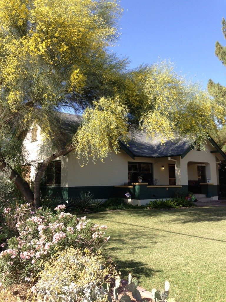 An historic home in Willo District Phoenix, Arizona