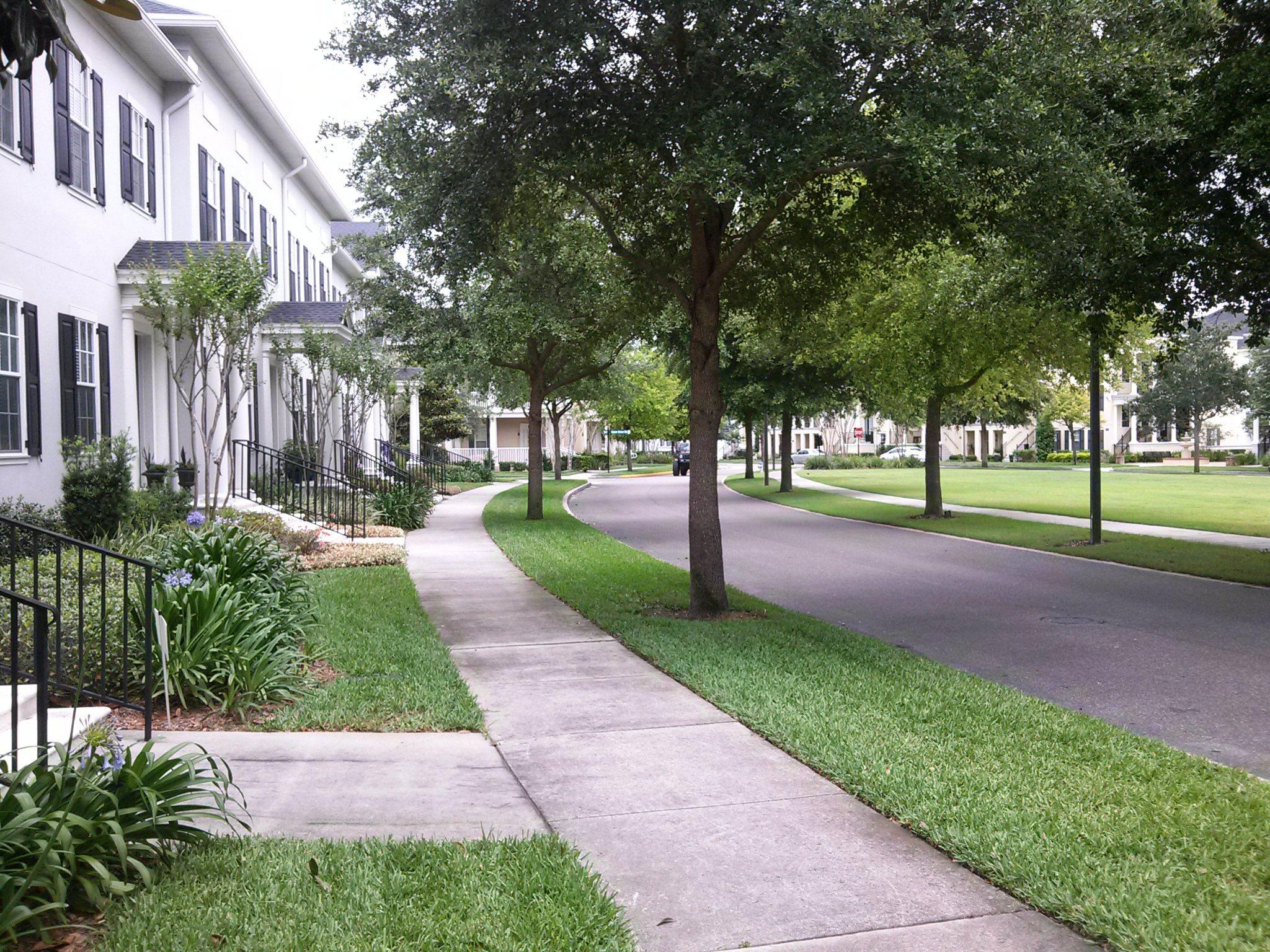 Baldwin Park Orlando Florida New Urbanism