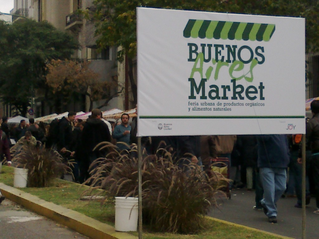 New Buenos Aires' Farmers market