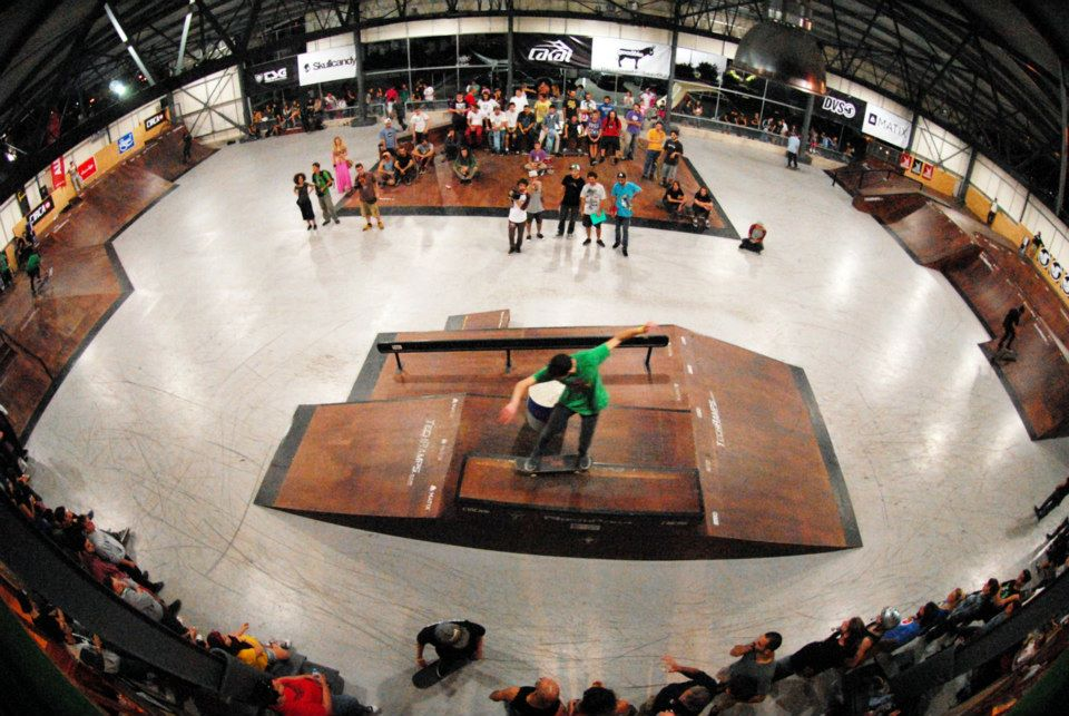Northpark, Indoor Skatpark in Thessaloniki, Greece