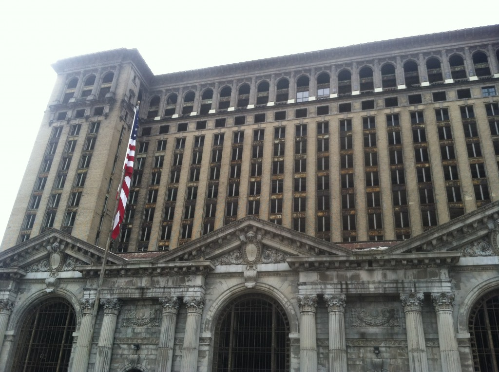 Abandoned Michigan Central Train Station, Detroit, MI