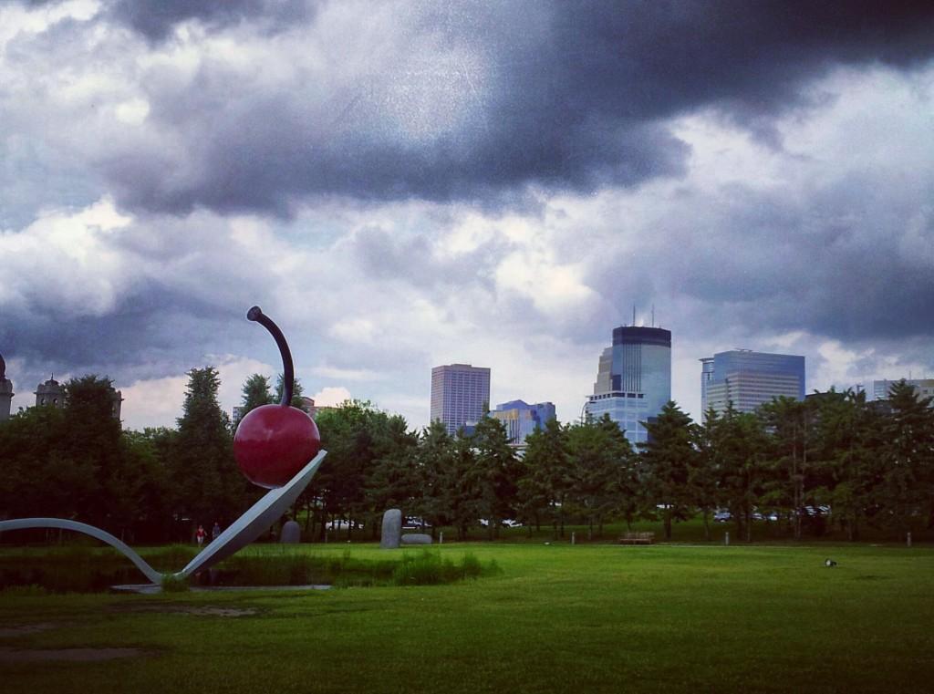 Minneapolis Sculpture Garden in Minnesota Celebrates Its 25th Anniversary