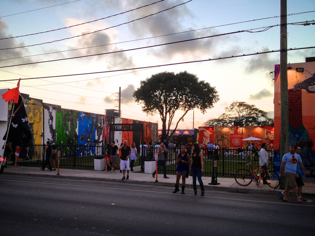 Activating public space in Wynwood