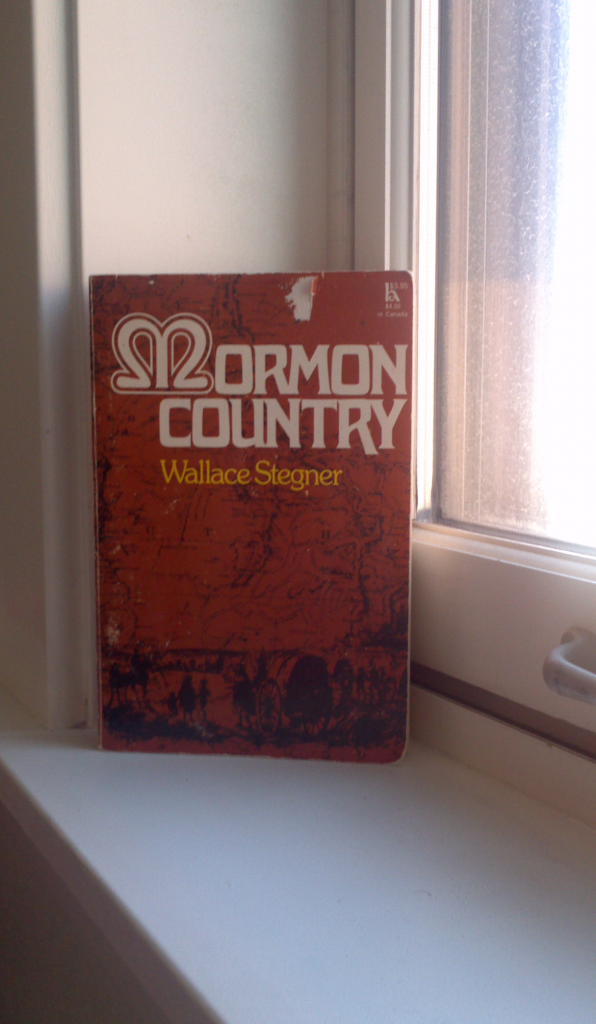 Mormon Country cover