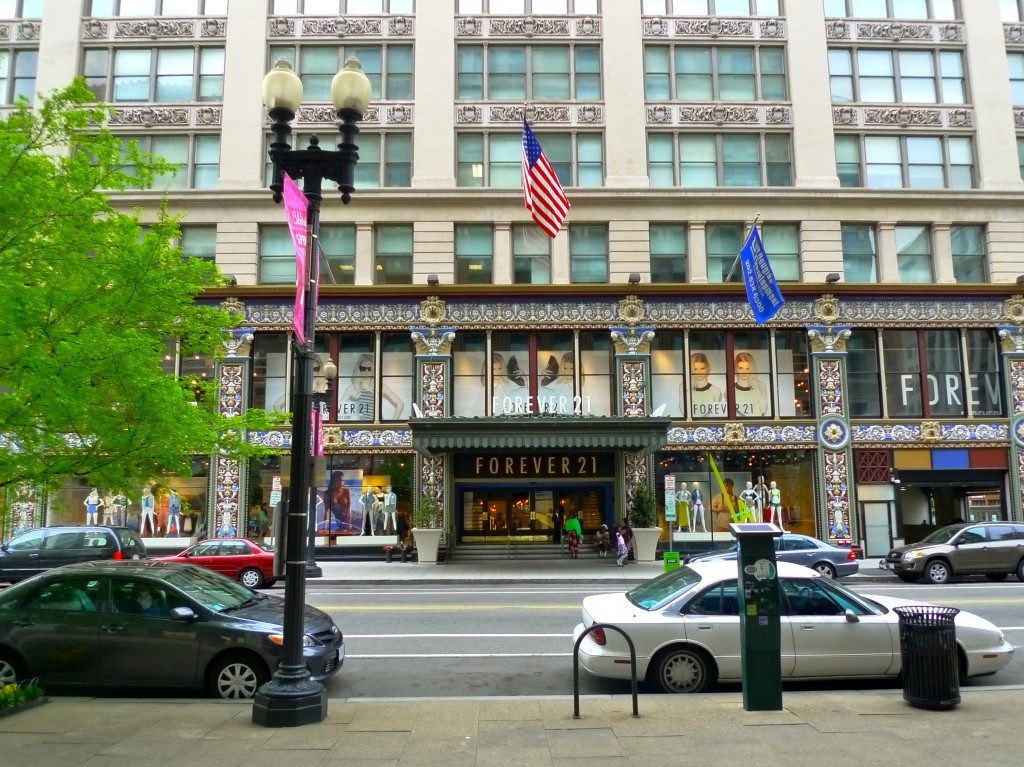 The Woodies Building Now Houses Forever 21