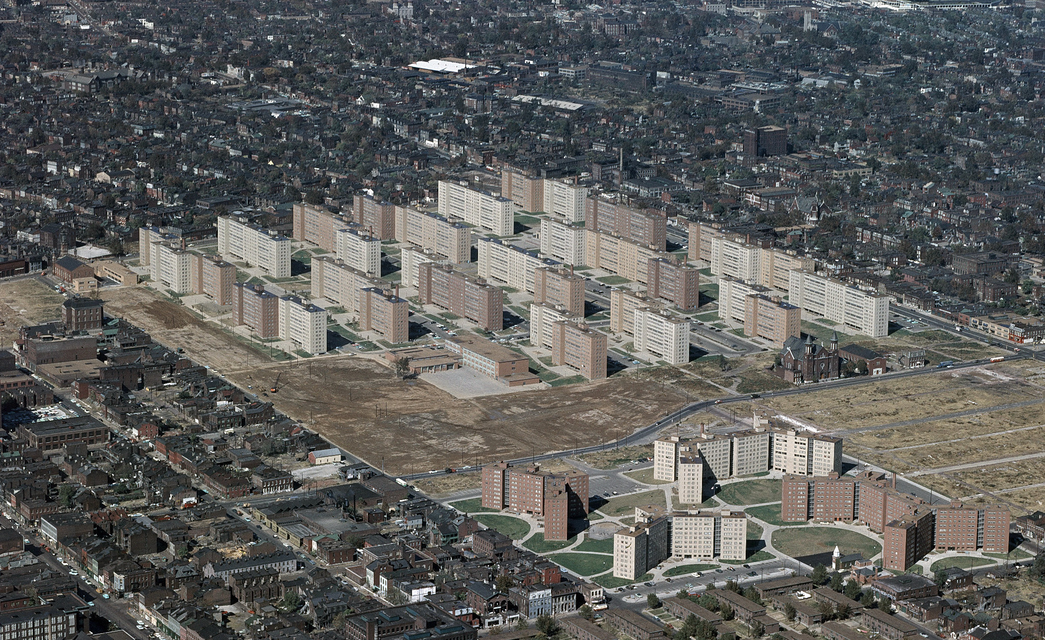 "Pruitt-Igoe; ""Rubble: Unearthing the History of Demolition"" by Jeff Byles"