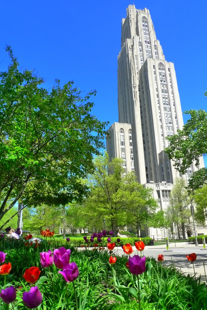 The University of Pittsburgh's Cathedral of Learning