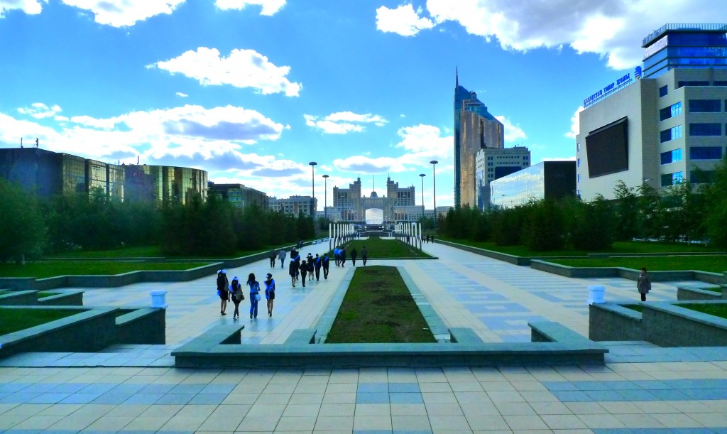 Astana's Institutional and Civic Commons