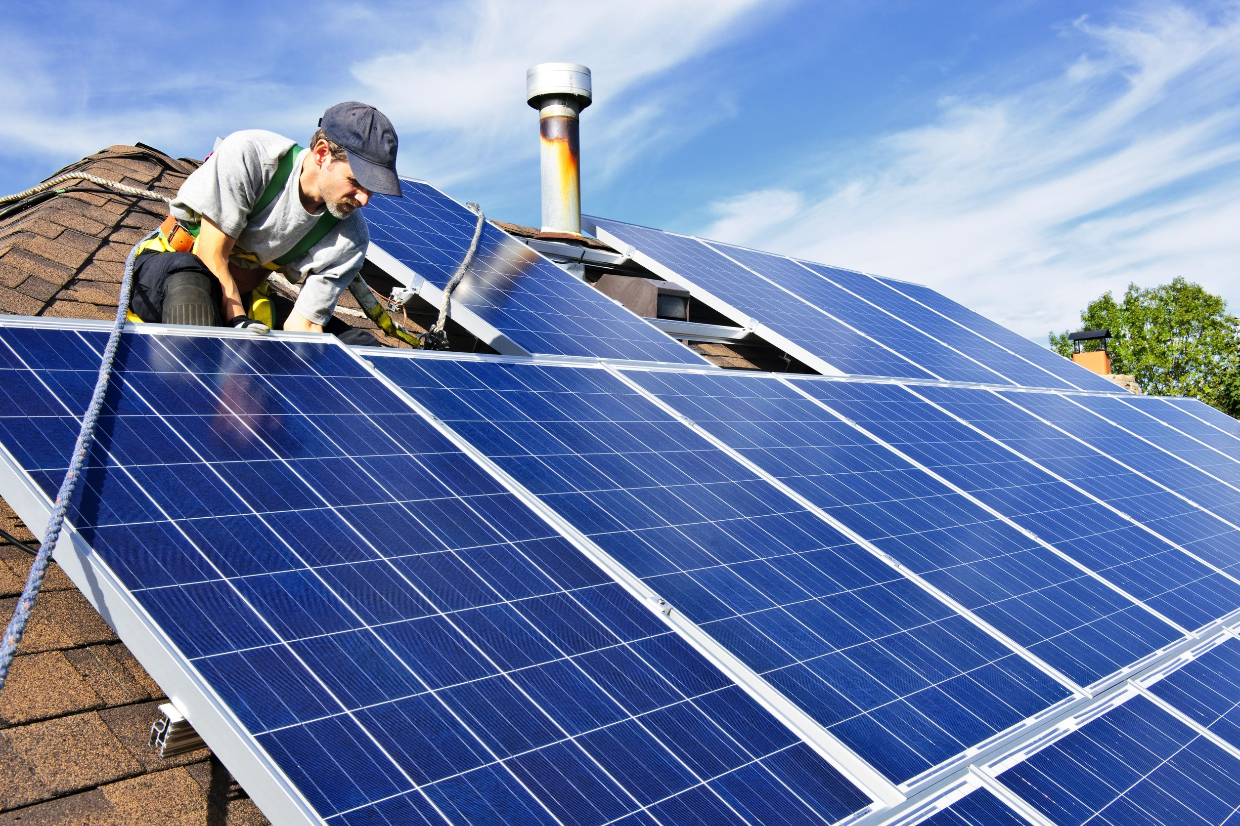 The installation of  small scale renewable energy technologies such as solar panels are essential in driving decentralized energy creation