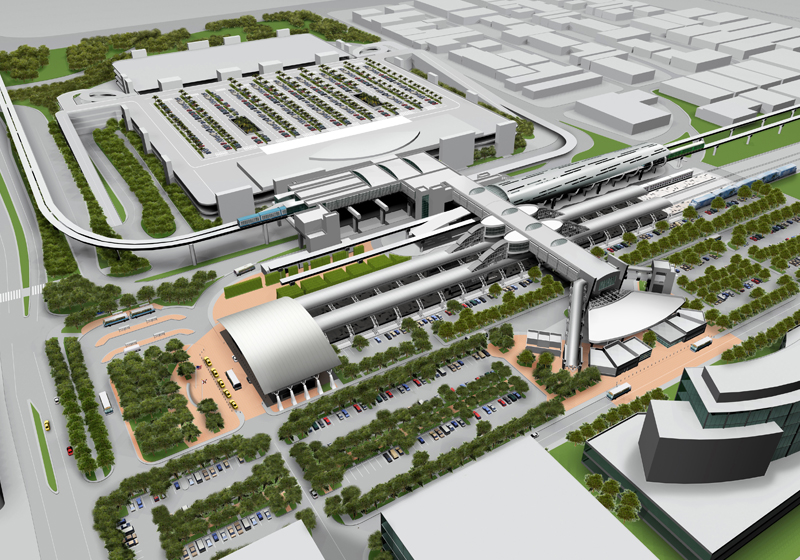 Miami's New Intermodal Center, Central Station and Rail Expansion Florida
