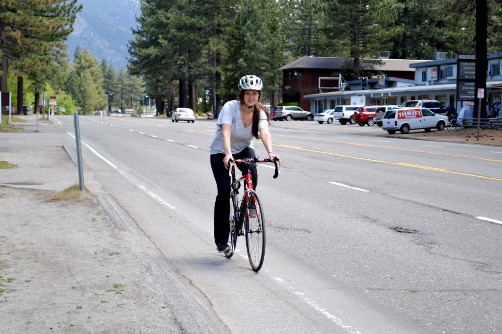 Road Biking in South Lake Tahoe