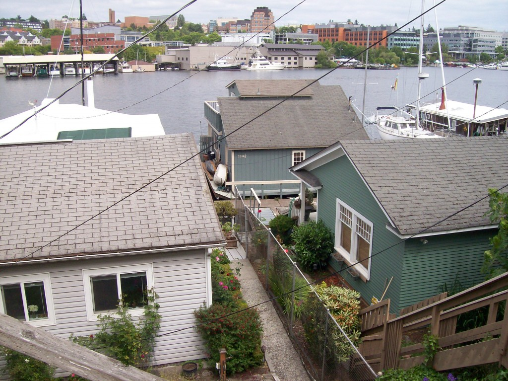 Floating Homes, Portage Bay, Seattle