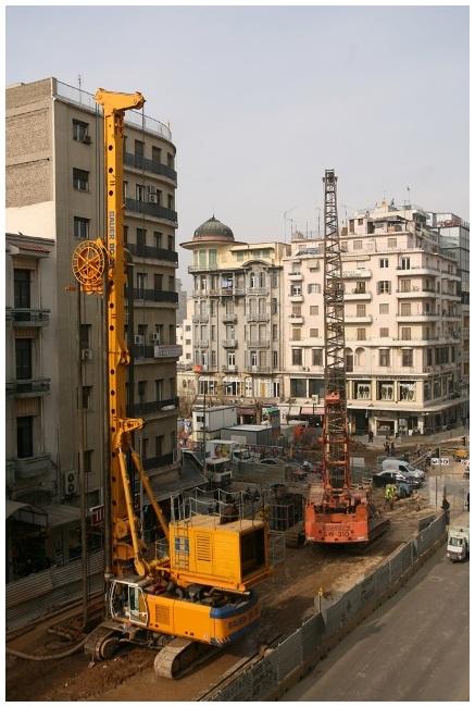 Construction Site - Thessaloniki's Metro 1