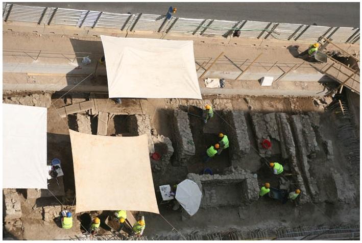 Construction Site - Thessaloniki's Metro 3