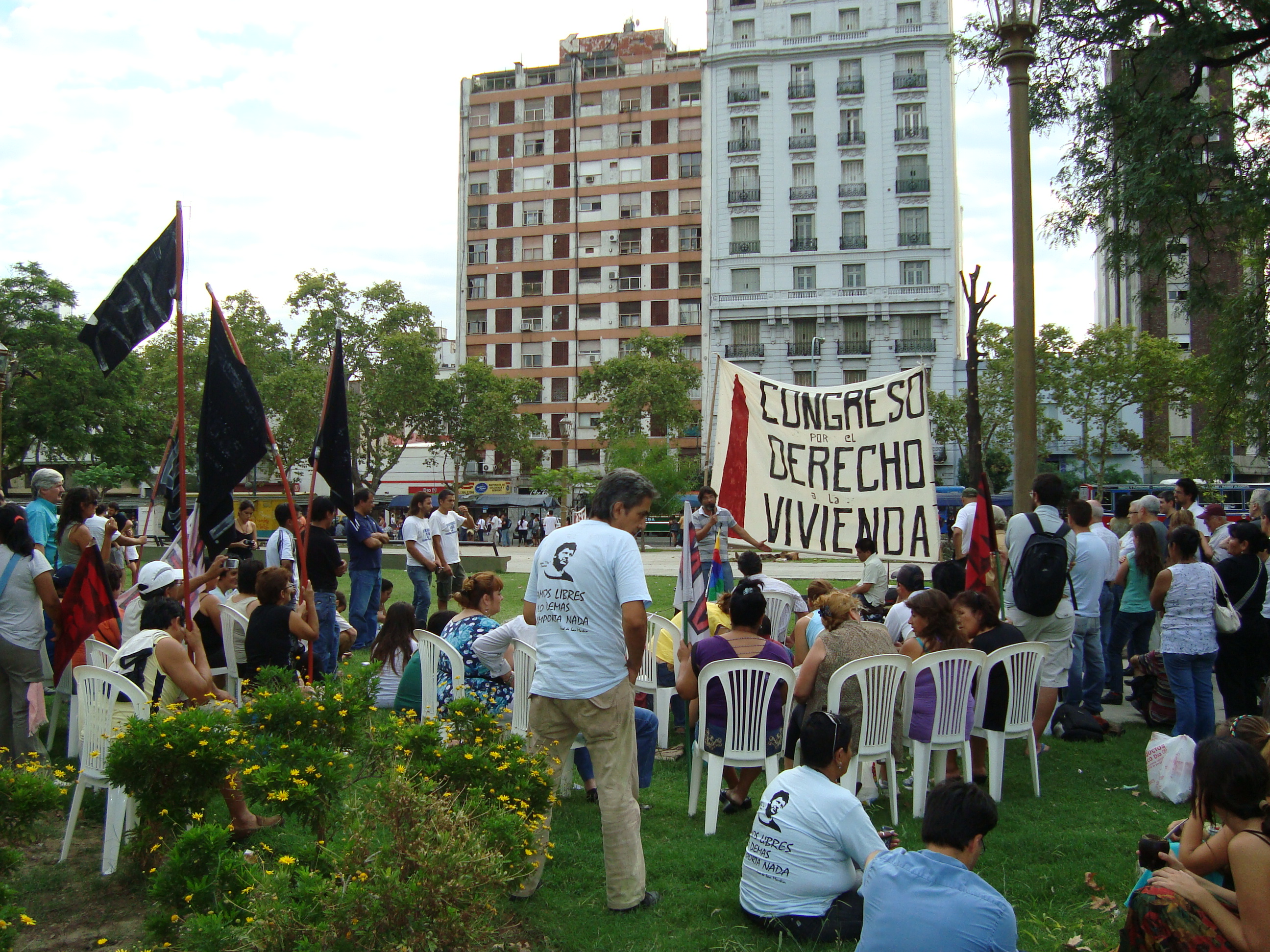 Living rights' congress in Buenos Aires