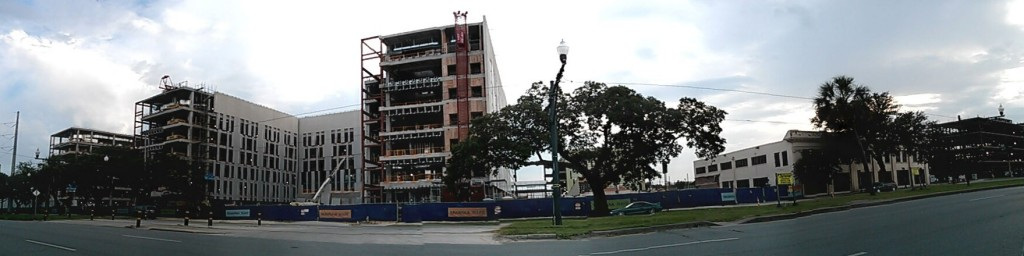 Medical Complex Under Construction on Canal Street