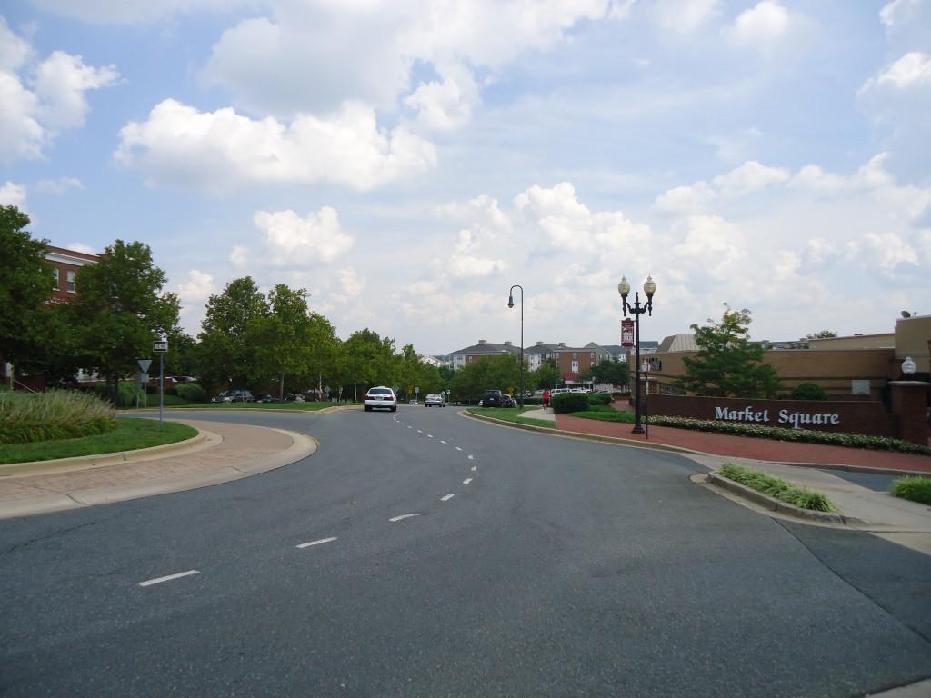 Winding Suburban Streets