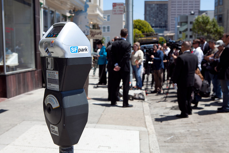 SFPark Parking Meter San Francisco