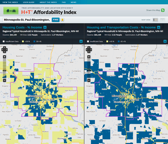 H+T Affordability Index