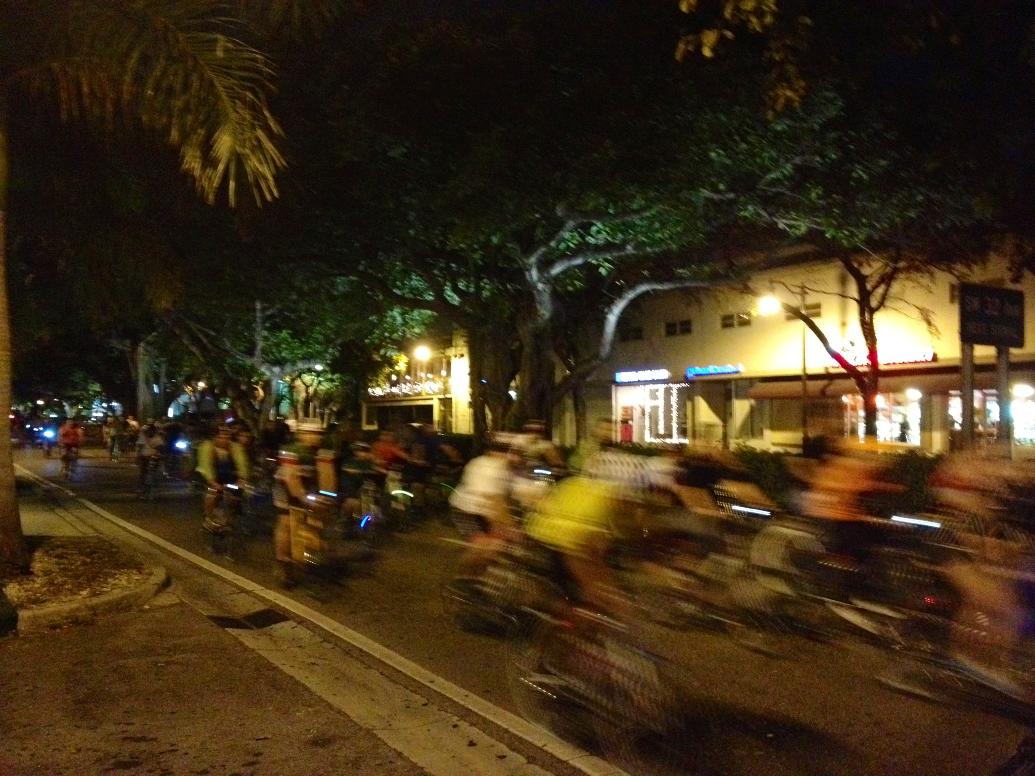 Miami Critical Mass on Coral Way
