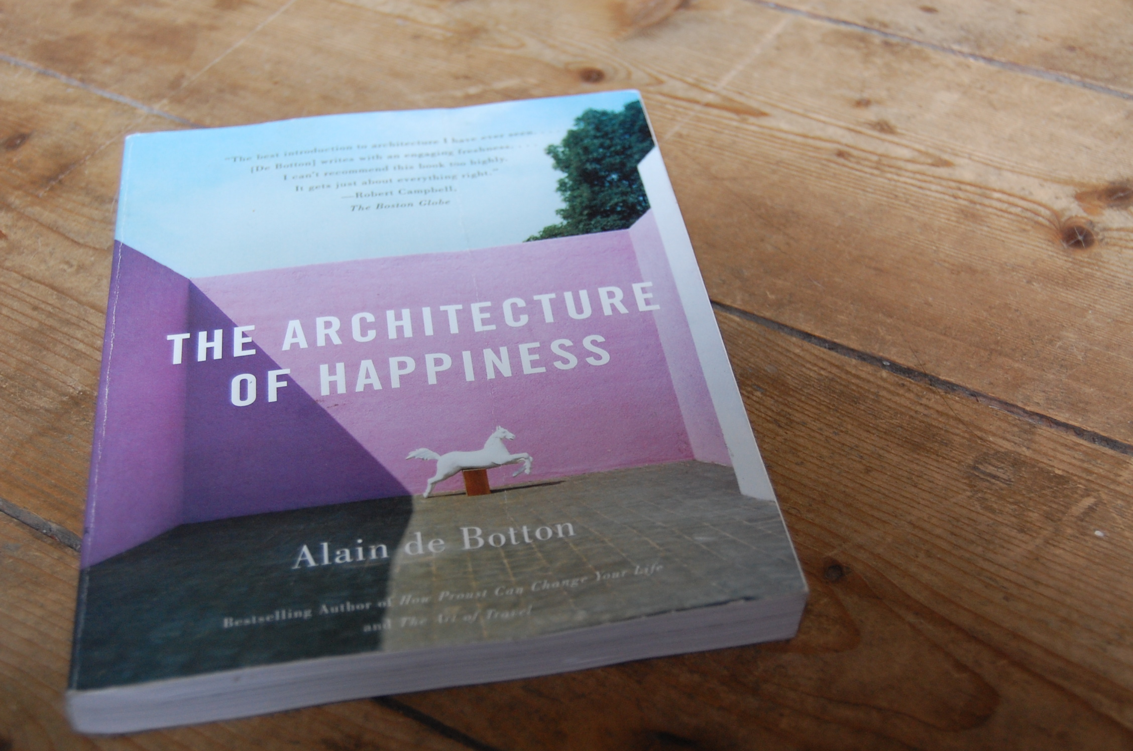 Architecture of Happiness book