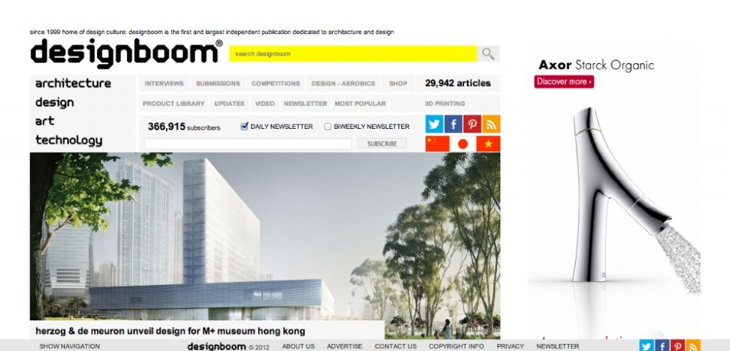 Where Architects Go The Top 10 Architecture Websites for 2013
