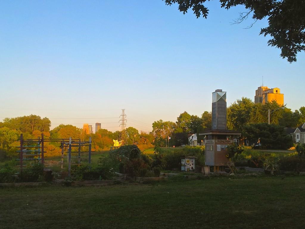 Community Garden, Minneapolis, Minnesota