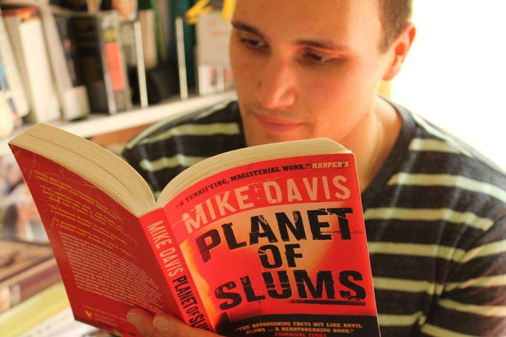 Maxwell Vidaver Reading Planet of Slumbs