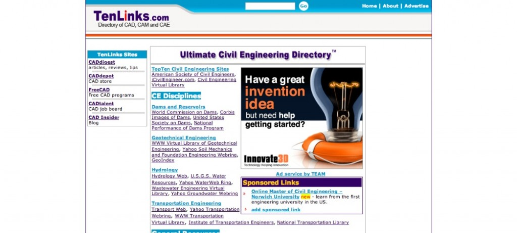 TenLinks Civil Engineering Directory