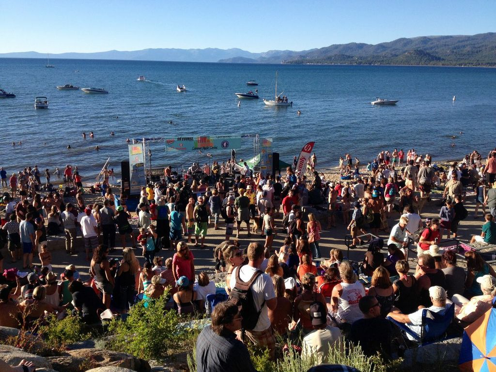 South Lake Tahoe Summer Music Series Lakeview Commons