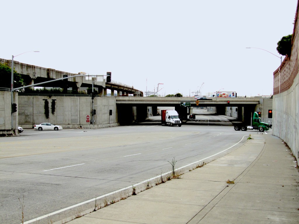 Adapt Target Site - 7th St. and Frontage Road in West Oakland