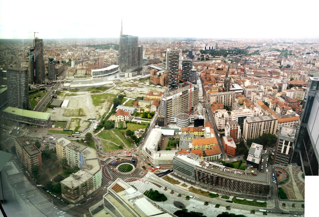 New development projects that define Milan's skyline, Italy