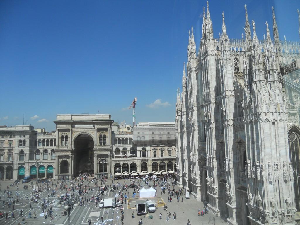 Il Duomo di Milan and Galleria Vittorio Emanuele, Milan, Italy