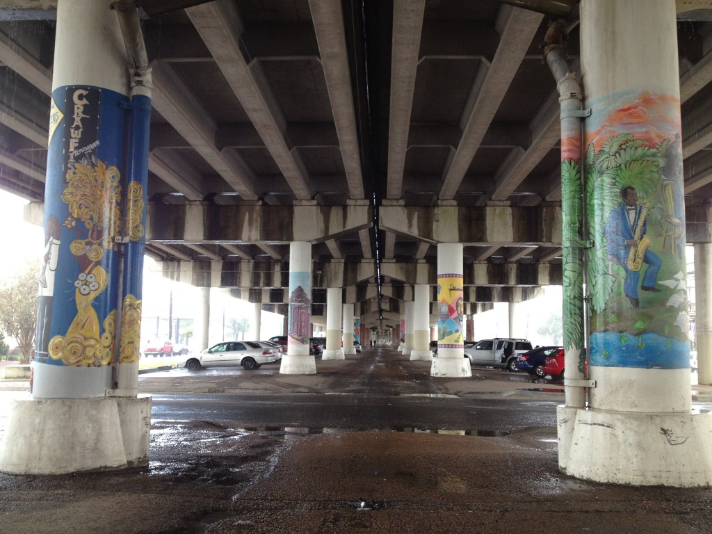 Painted Pillars Under I-10