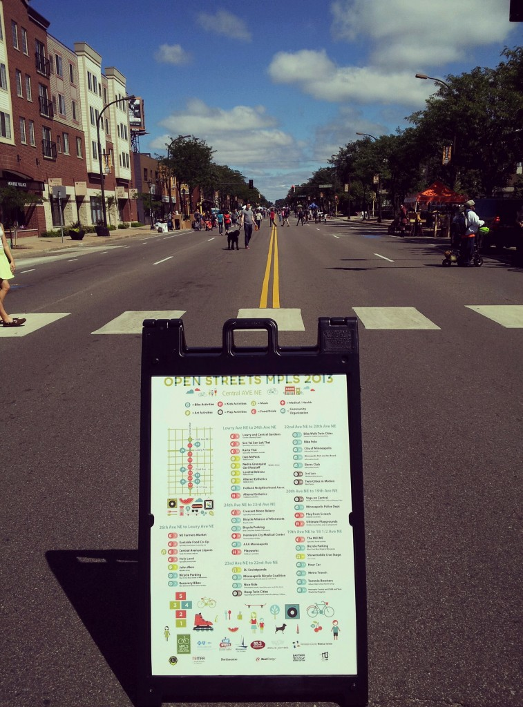 Open Streets in Minneapolis