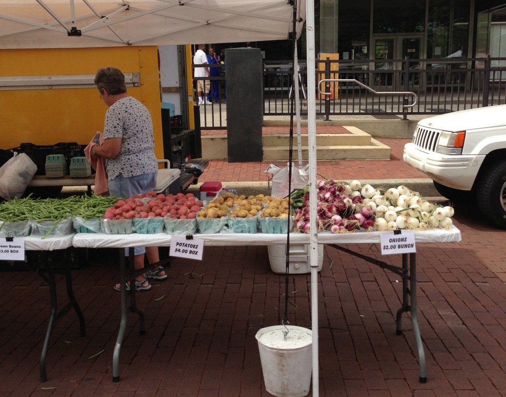 Indianapolis Farmers' Market Booth