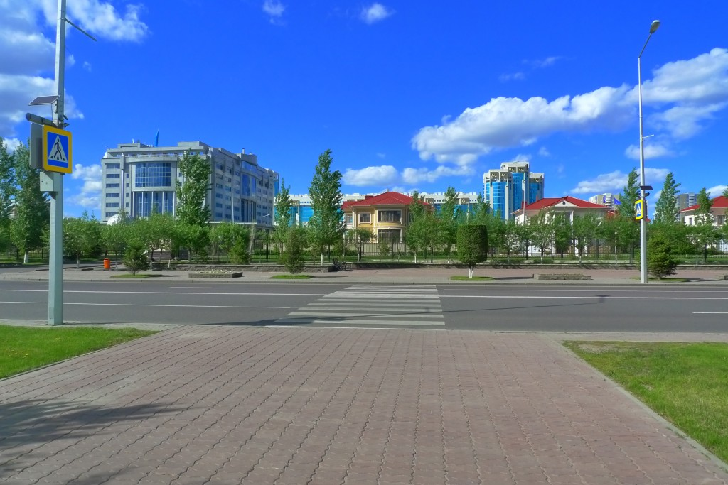 A Standard Crosswalk in Astana