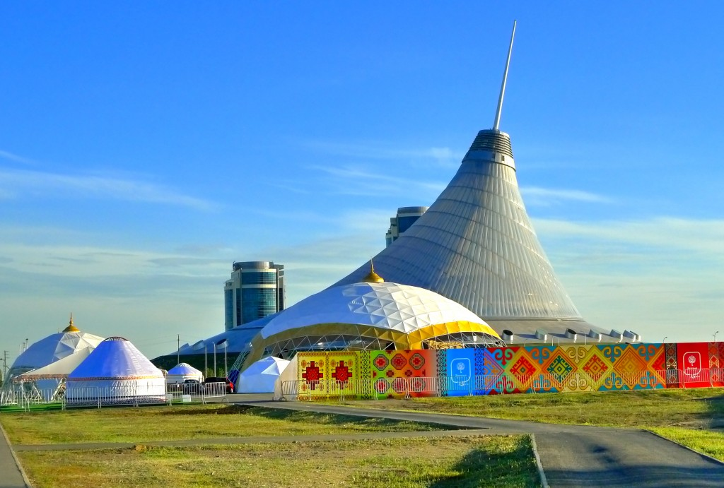 """Millennia around Astana"" at Khan Shatyr"