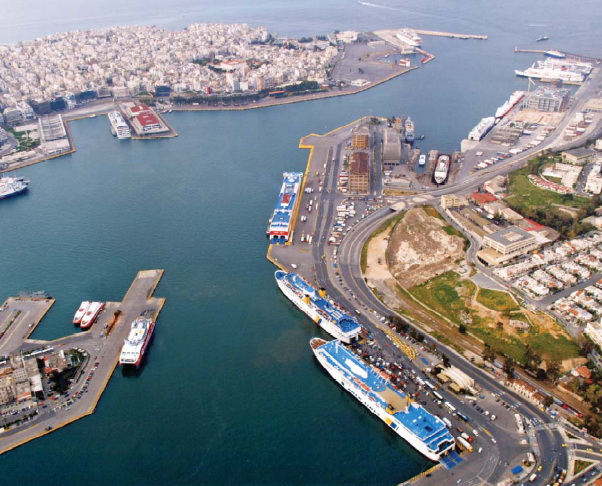 Curent view of the Piraeus Cultural Coast