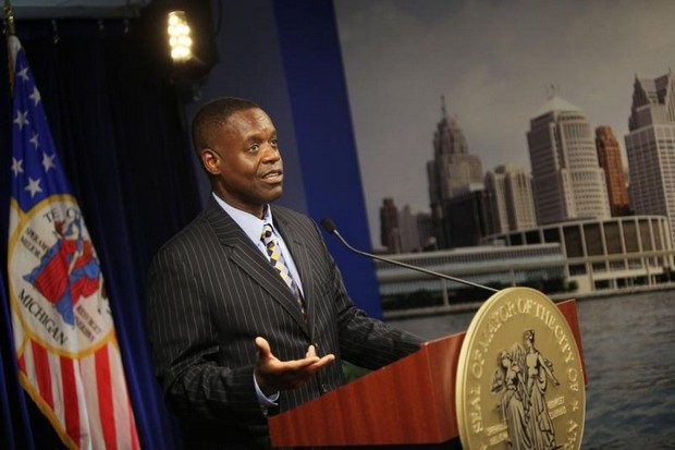 Kevyn Orr announces Detroit Bankruptcy, July 18th 2013