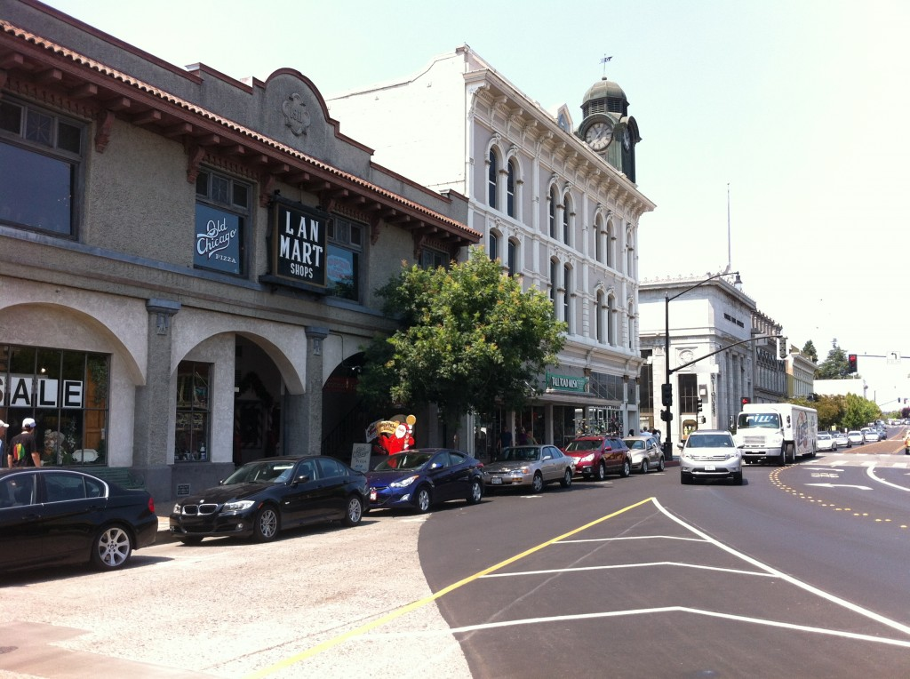 The 1882 Masonic Lodge on Petaluma Boulevard South