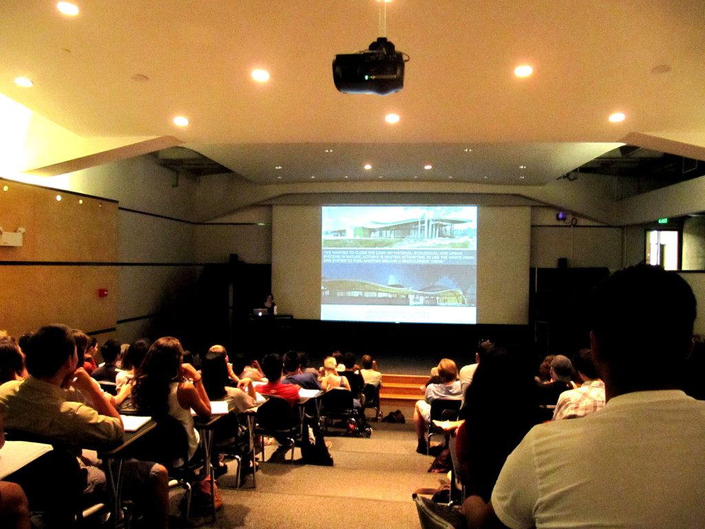 Berkeley College of Environmental Design Colloquium