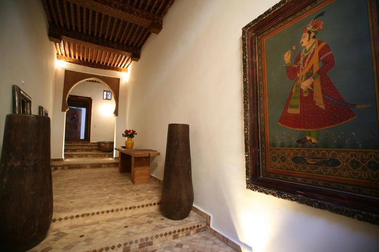 Riad Laaroussa Entrance Fez Morocco