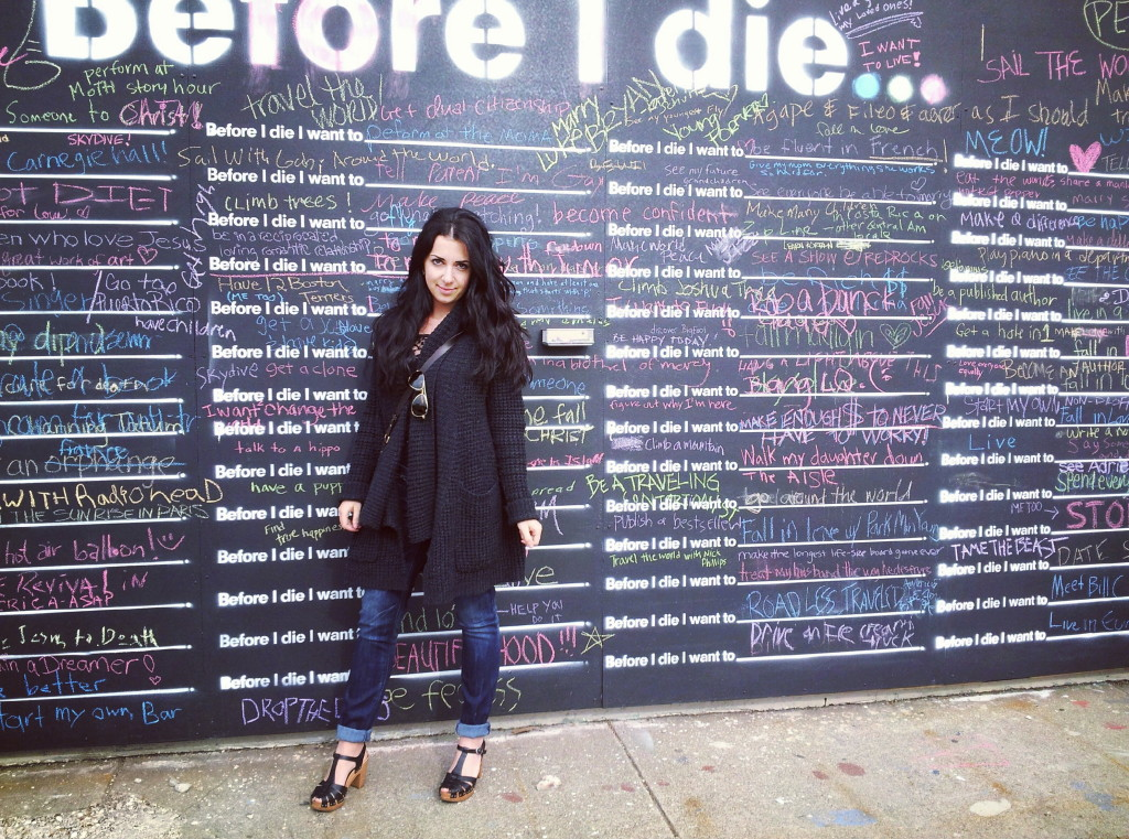 Candy Chang's 'Before I die...' Wall in Minneapolis Jasna Hadzic