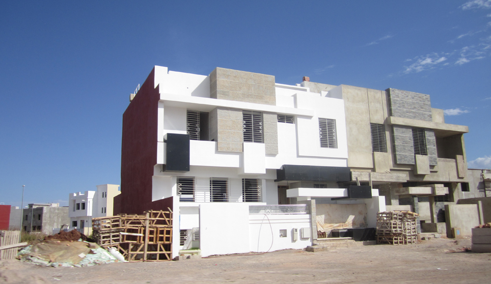 Individual houses at Fes Saiss new urban center, Morocco