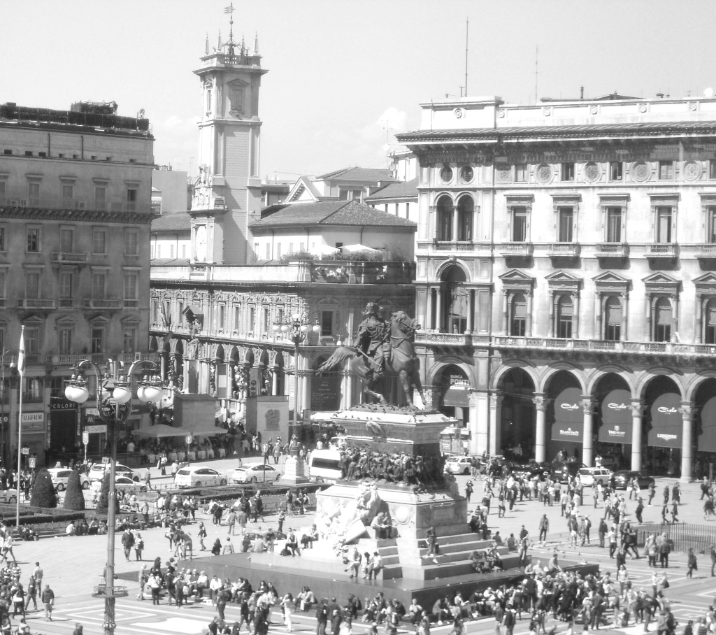 Piazza Duomo, Milan, Italy