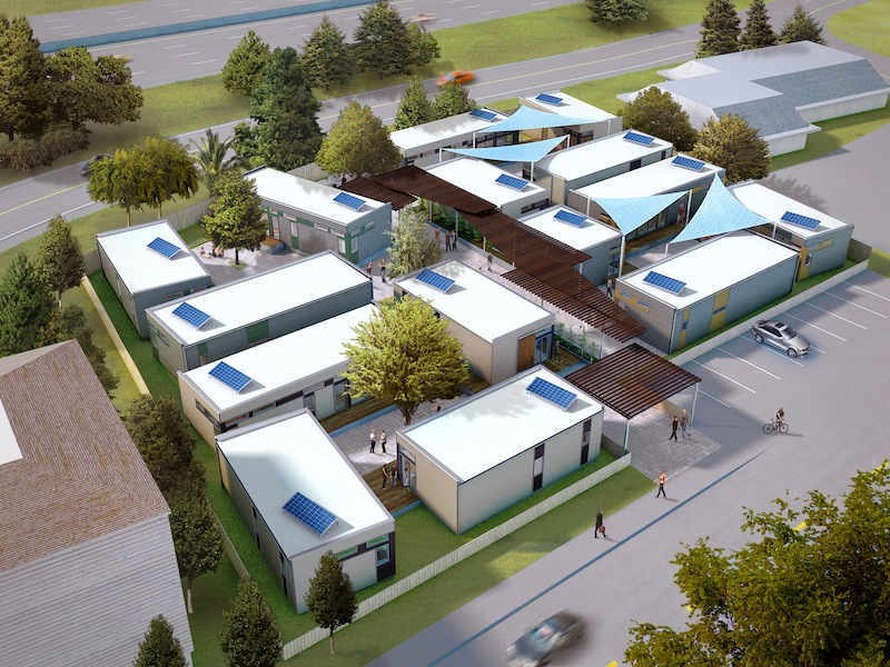 Oma Village is a planned affordable housing community in Novato, California.