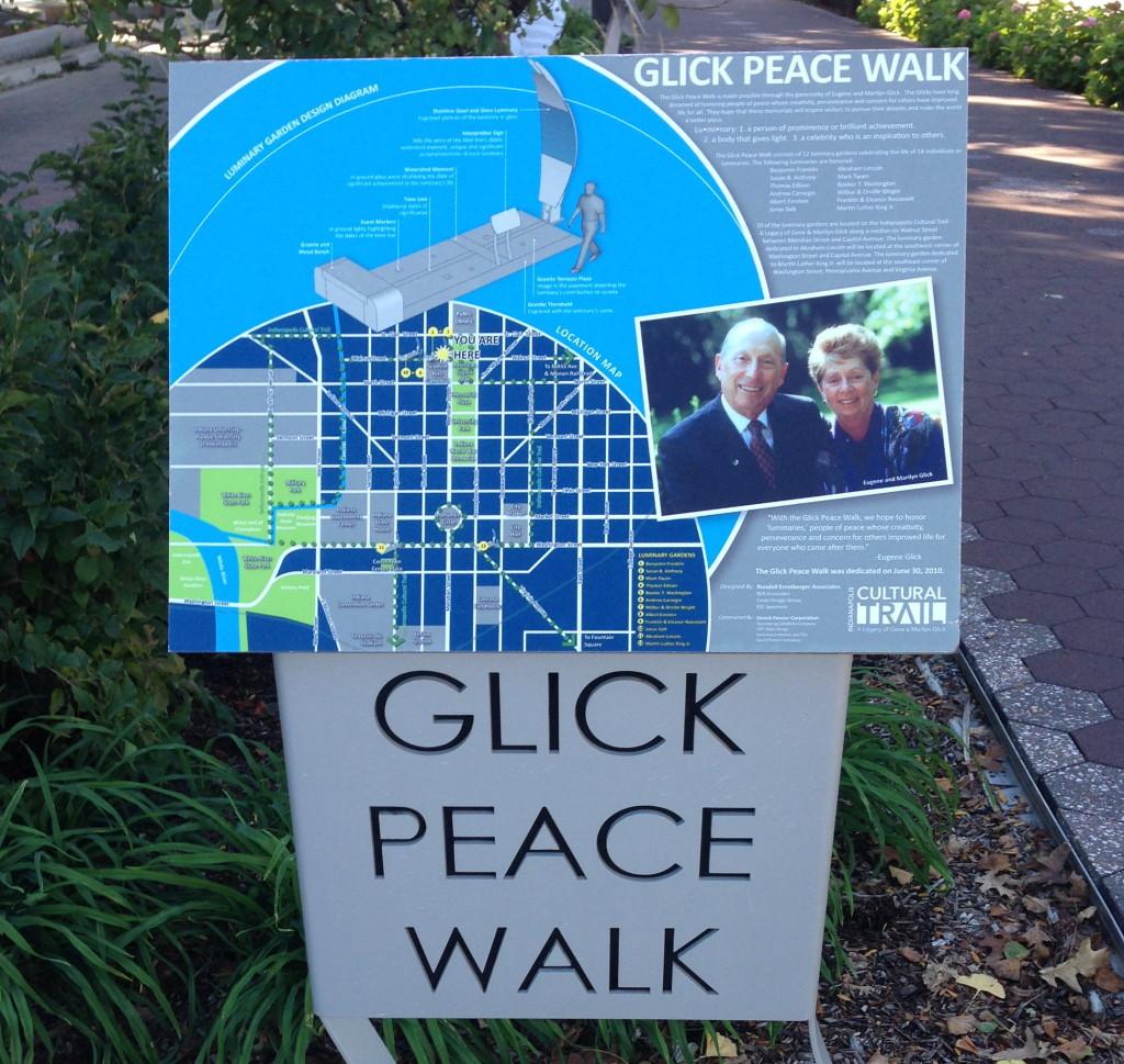 Glick Peace Walk, Indianapolis, Indiana